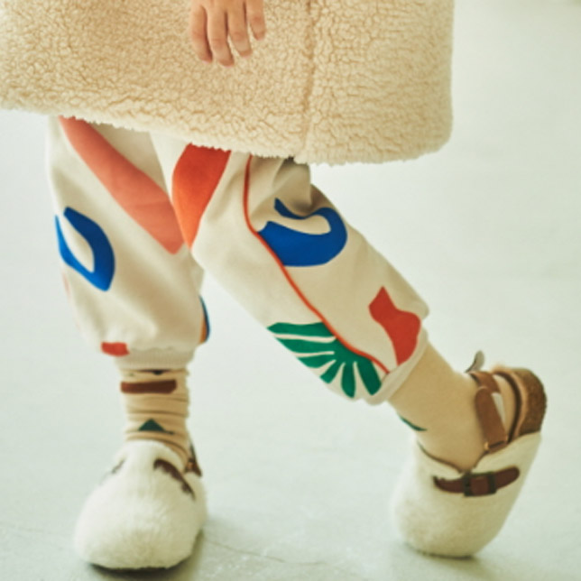 MIMICO - Korean Children Fashion - #Kfashion4kids - Piping Print Pants - 3
