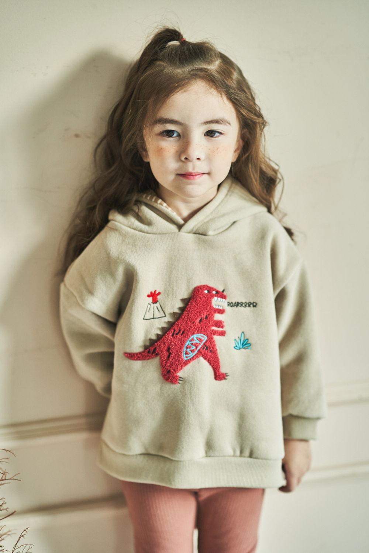 MIMICO - Korean Children Fashion - #Kfashion4kids - Winter Dino Hood Pullover - 10