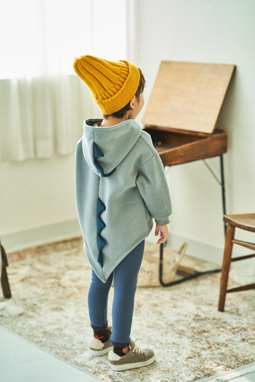 MIMICO - Korean Children Fashion - #Kfashion4kids - Winter Dino Hood Pullover - 5