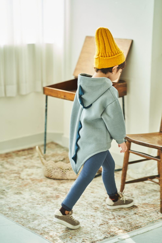 MIMICO - Korean Children Fashion - #Kfashion4kids - Winter Dino Hood Pullover - 6
