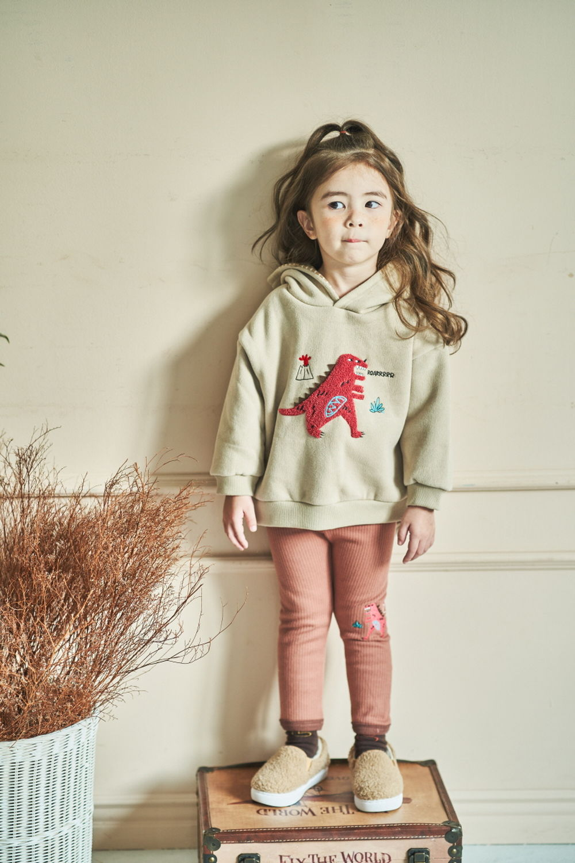 MIMICO - Korean Children Fashion - #Kfashion4kids - Winter Dino Hood Pullover - 7