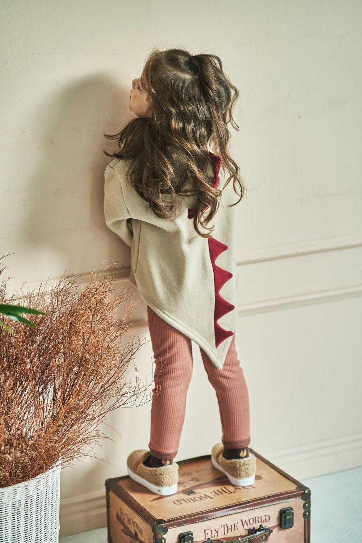 MIMICO - Korean Children Fashion - #Kfashion4kids - Winter Dino Hood Pullover - 9