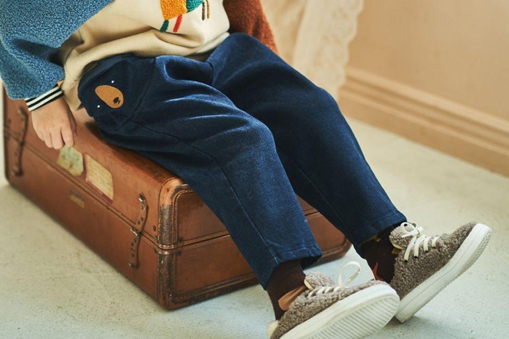 MIMICO - BRAND - Korean Children Fashion - #Kfashion4kids - Bear Bag Pants