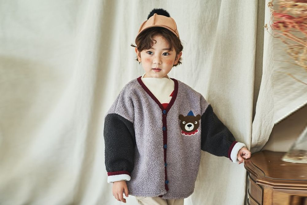 MIMICO - BRAND - Korean Children Fashion - #Kfashion4kids - Lingo Cardigan