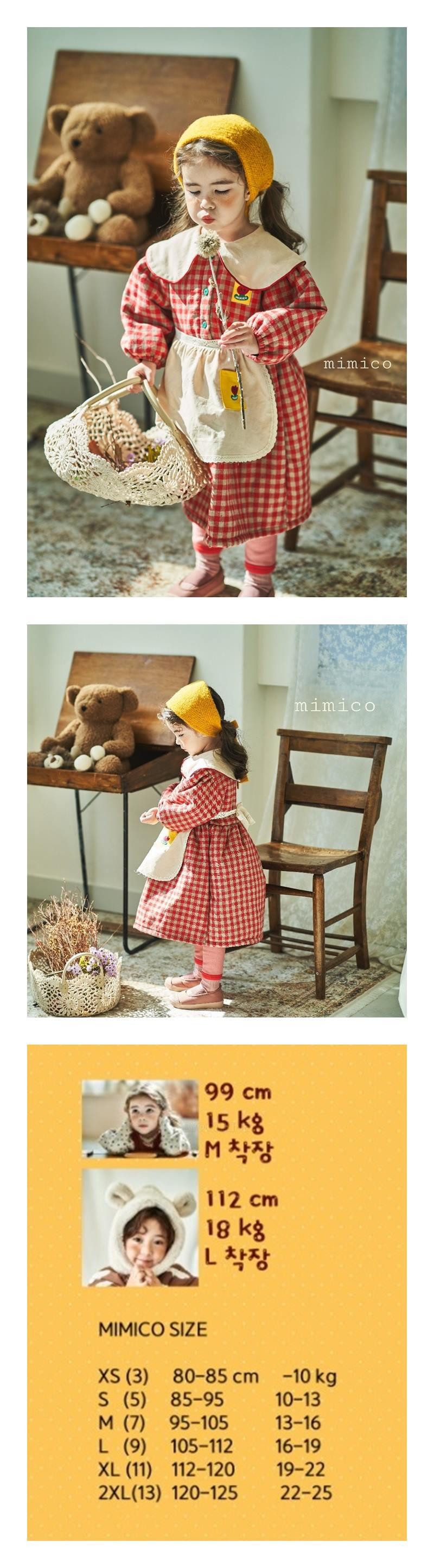 MIMICO - Korean Children Fashion - #Kfashion4kids - Hannah One-piece