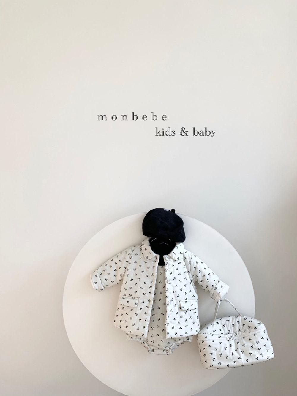 MONBEBE - Korean Children Fashion - #Kfashion4kids - Cherry Bonding Suspender Bodysuit - 10