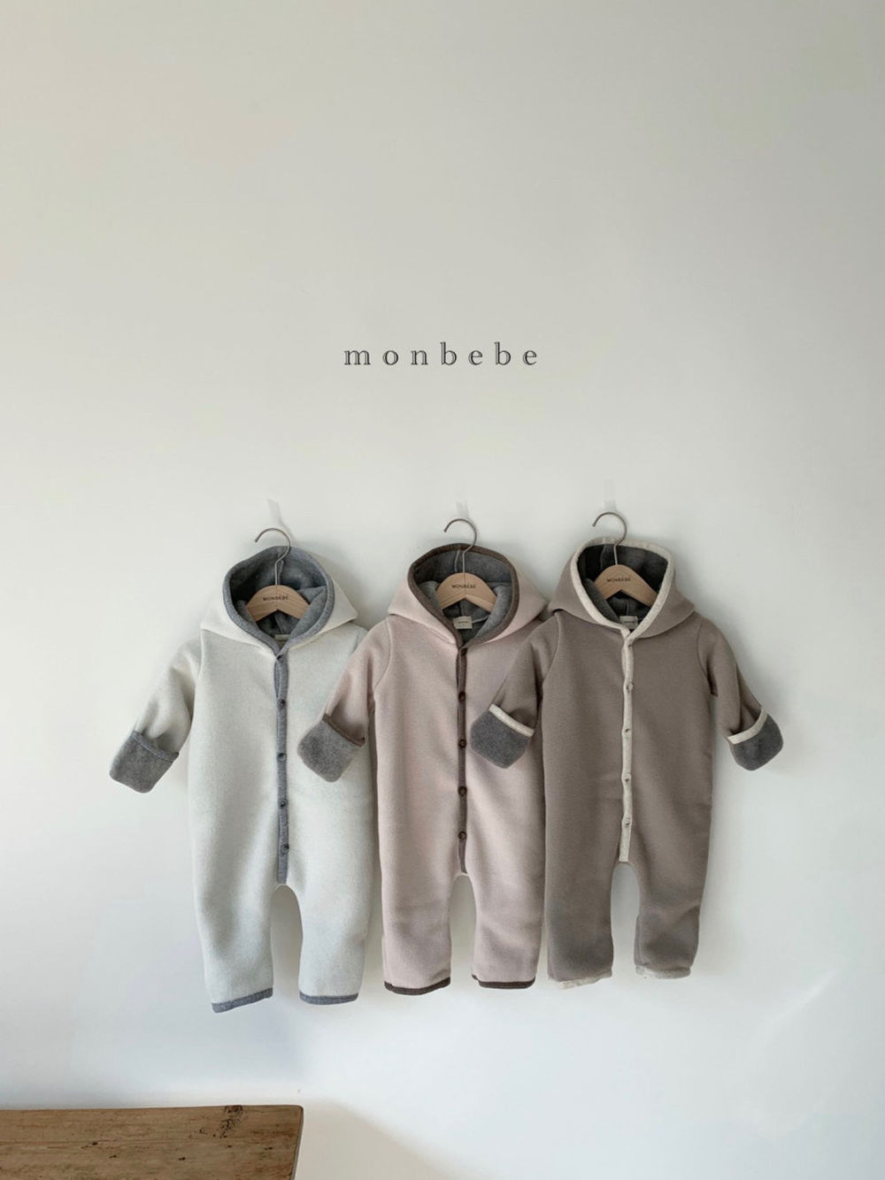 MONBEBE - BRAND - Korean Children Fashion - #Kfashion4kids - Handmade Bodysuit
