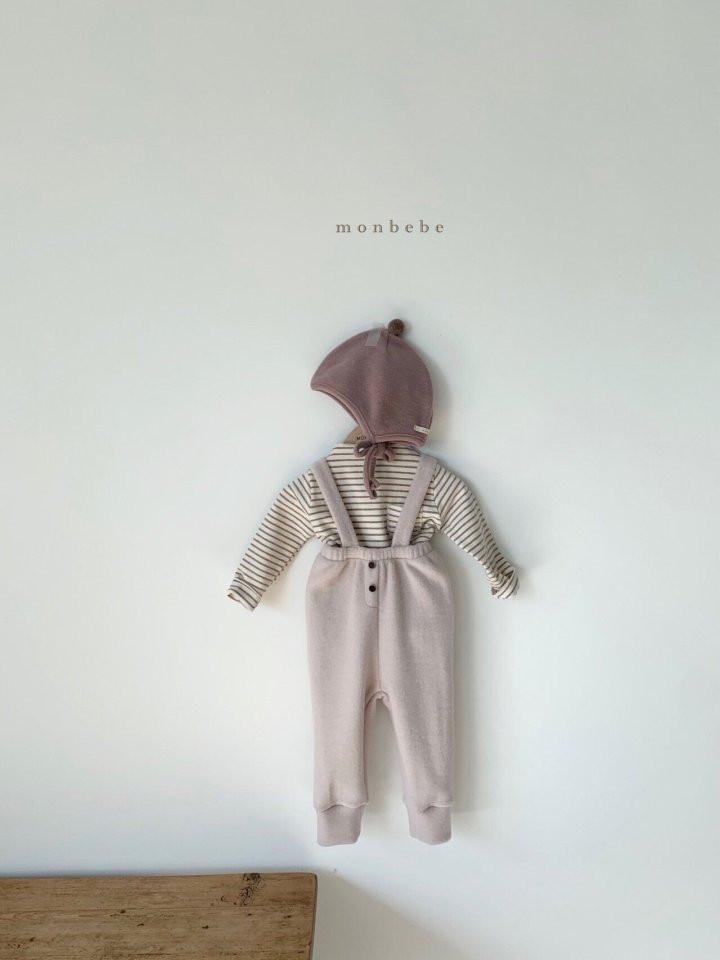 MONBEBE - Korean Children Fashion - #Kfashion4kids - Cozy Suspender Pants - 11