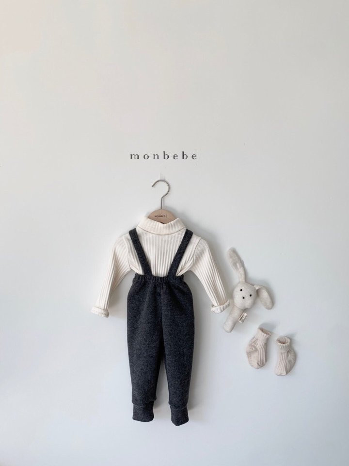 MONBEBE - Korean Children Fashion - #Kfashion4kids - Cozy Suspender Pants - 12