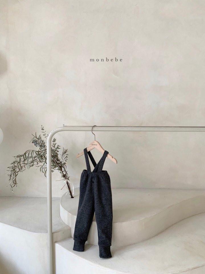 MONBEBE - Korean Children Fashion - #Kfashion4kids - Cozy Suspender Pants - 4