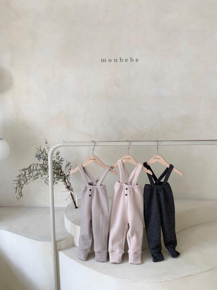MONBEBE - Korean Children Fashion - #Kfashion4kids - Cozy Suspender Pants - 6