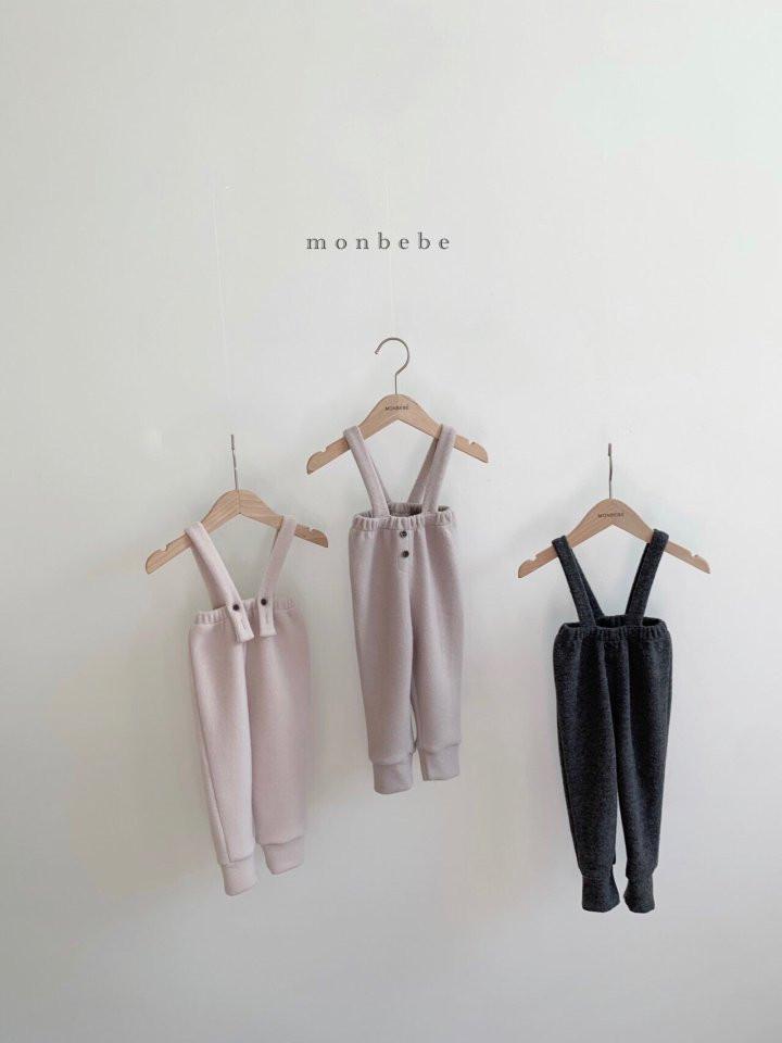 MONBEBE - Korean Children Fashion - #Kfashion4kids - Cozy Suspender Pants - 7