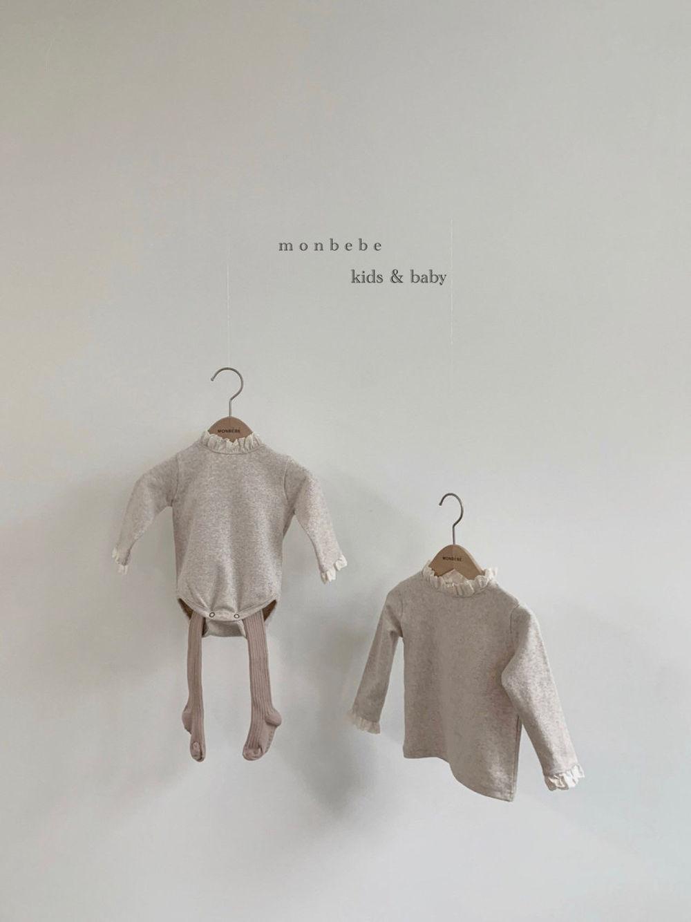 MONBEBE - Korean Children Fashion - #Kfashion4kids - Lace Bodysuit - 4
