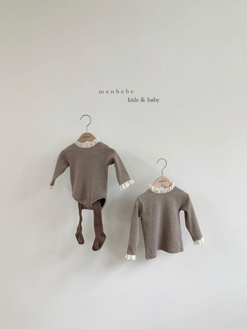 MONBEBE - Korean Children Fashion - #Kfashion4kids - Lace Bodysuit - 5