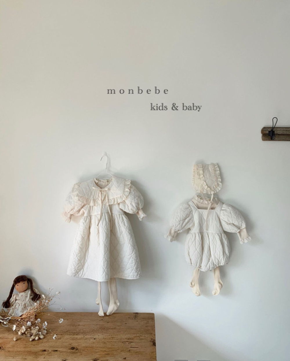 MONBEBE - Korean Children Fashion - #Kfashion4kids - Coco Cape Collar with Mom - 10