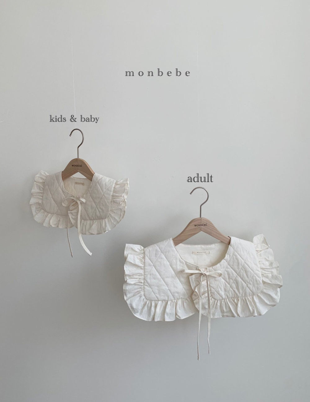 MONBEBE - Korean Children Fashion - #Kfashion4kids - Coco Cape Collar with Mom - 2