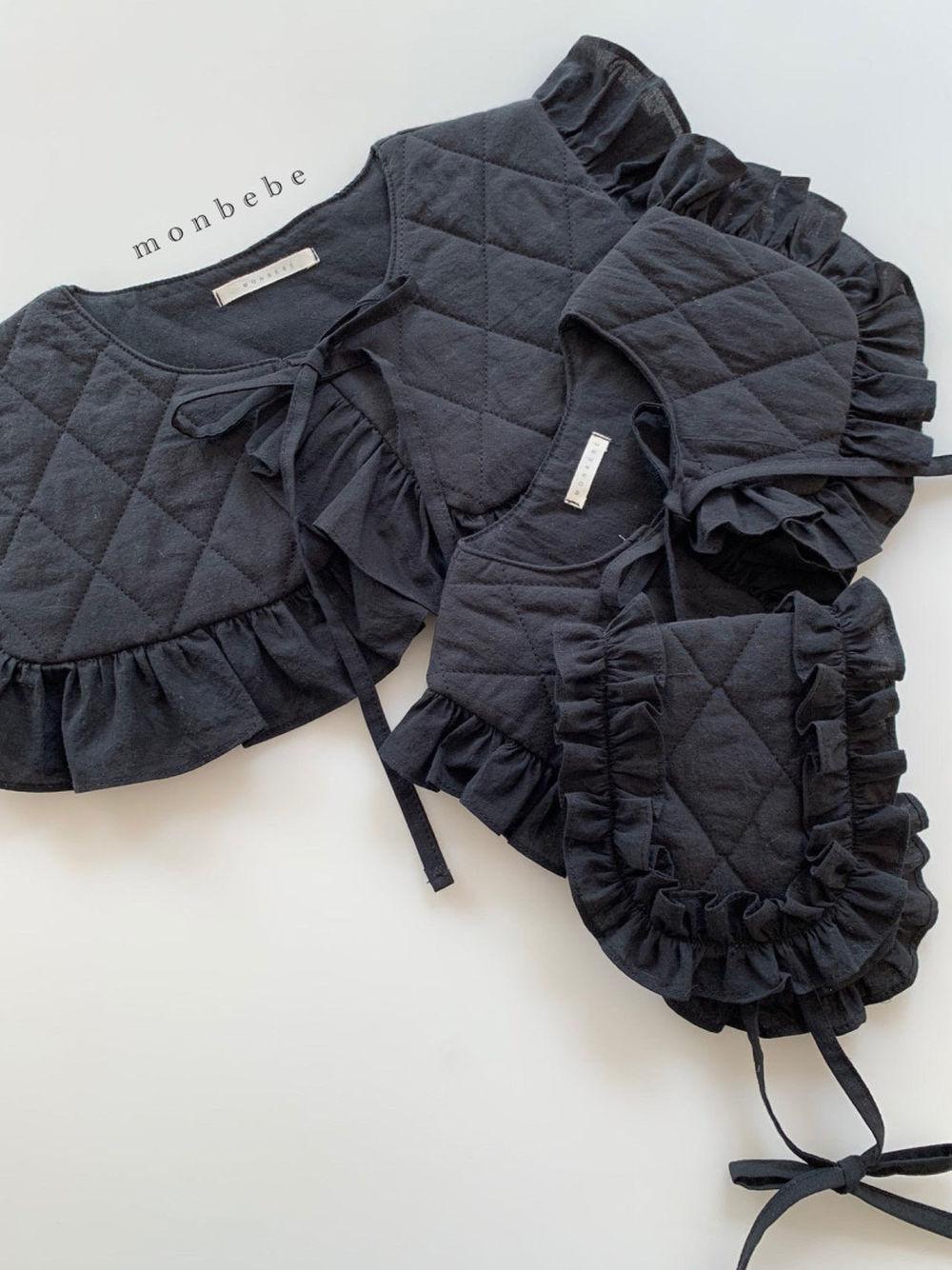 MONBEBE - Korean Children Fashion - #Kfashion4kids - Coco Cape Collar with Mom - 4