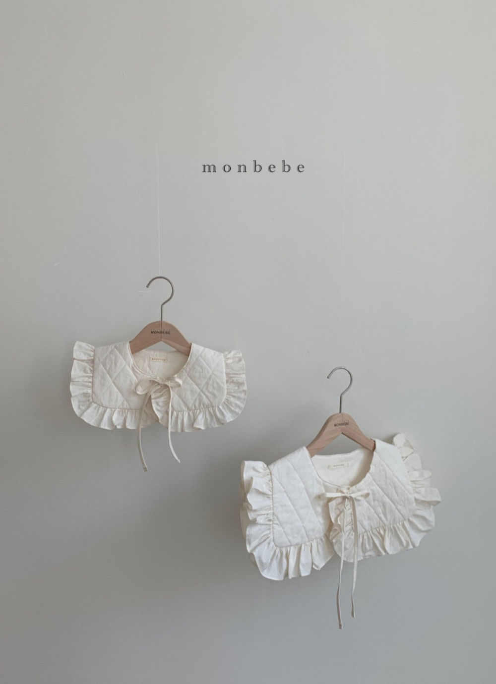 MONBEBE - Korean Children Fashion - #Kfashion4kids - Coco Cape Collar with Mom - 5