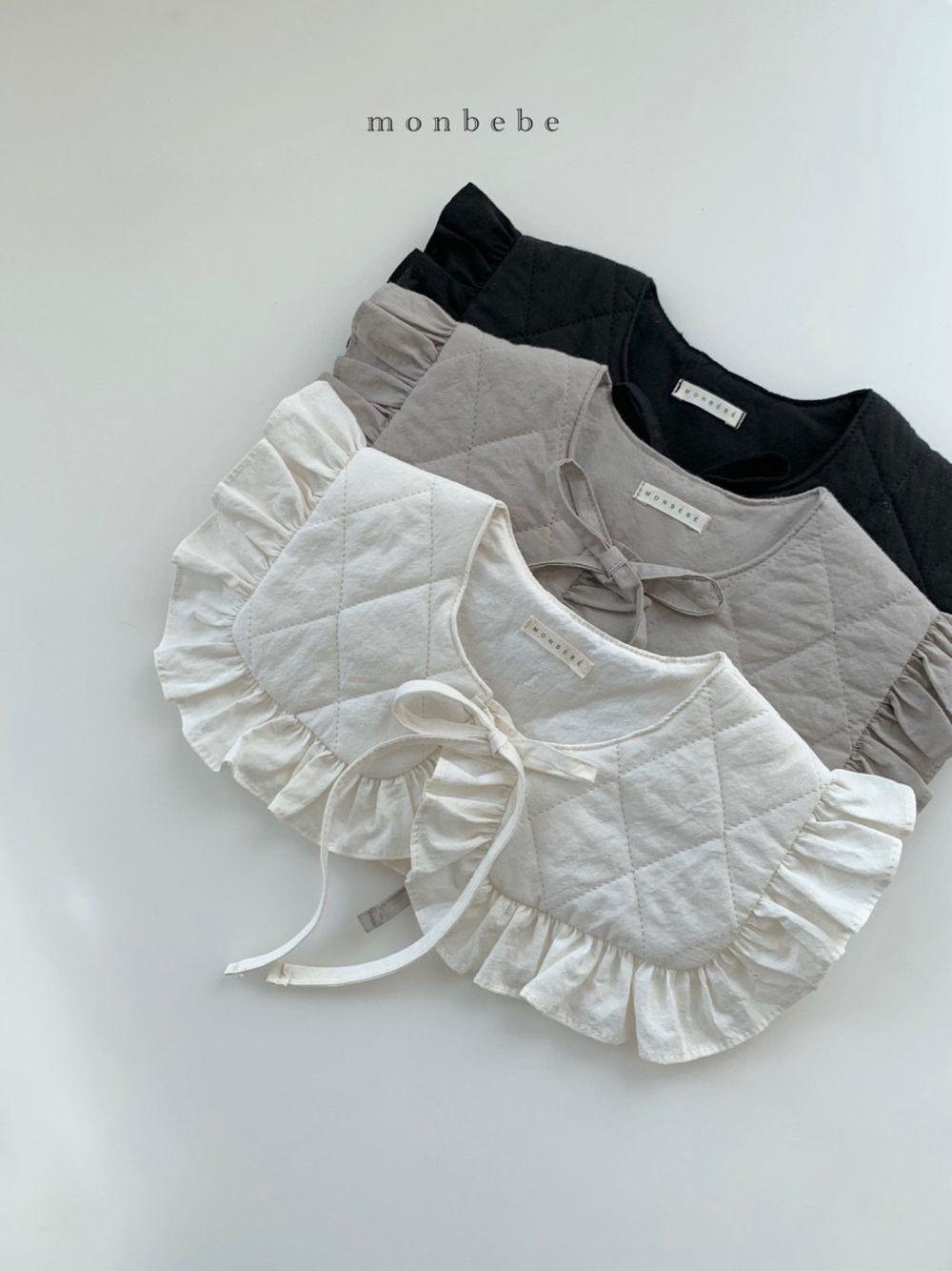 MONBEBE - BRAND - Korean Children Fashion - #Kfashion4kids - Coco Cape Collar with Mom