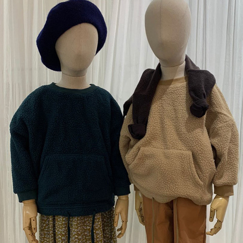 MOOI STORE - BRAND - Korean Children Fashion - #Kfashion4kids - Kangaroo Pullover