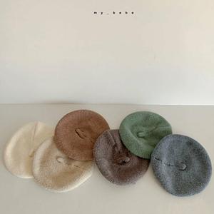 MY BEBE - BRAND - Korean Children Fashion - #Kfashion4kids - Knit Beret