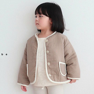 MY BEBE - BRAND - Korean Children Fashion - #Kfashion4kids - Bonding Piping Jacket