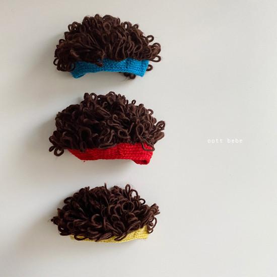 OOTT BEBE - Korean Children Fashion - #Kfashion4kids - Hairy Wig Hat