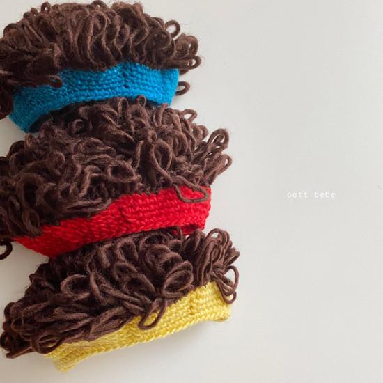 OOTT BEBE - Korean Children Fashion - #Kfashion4kids - Hairy Wig Hat - 5