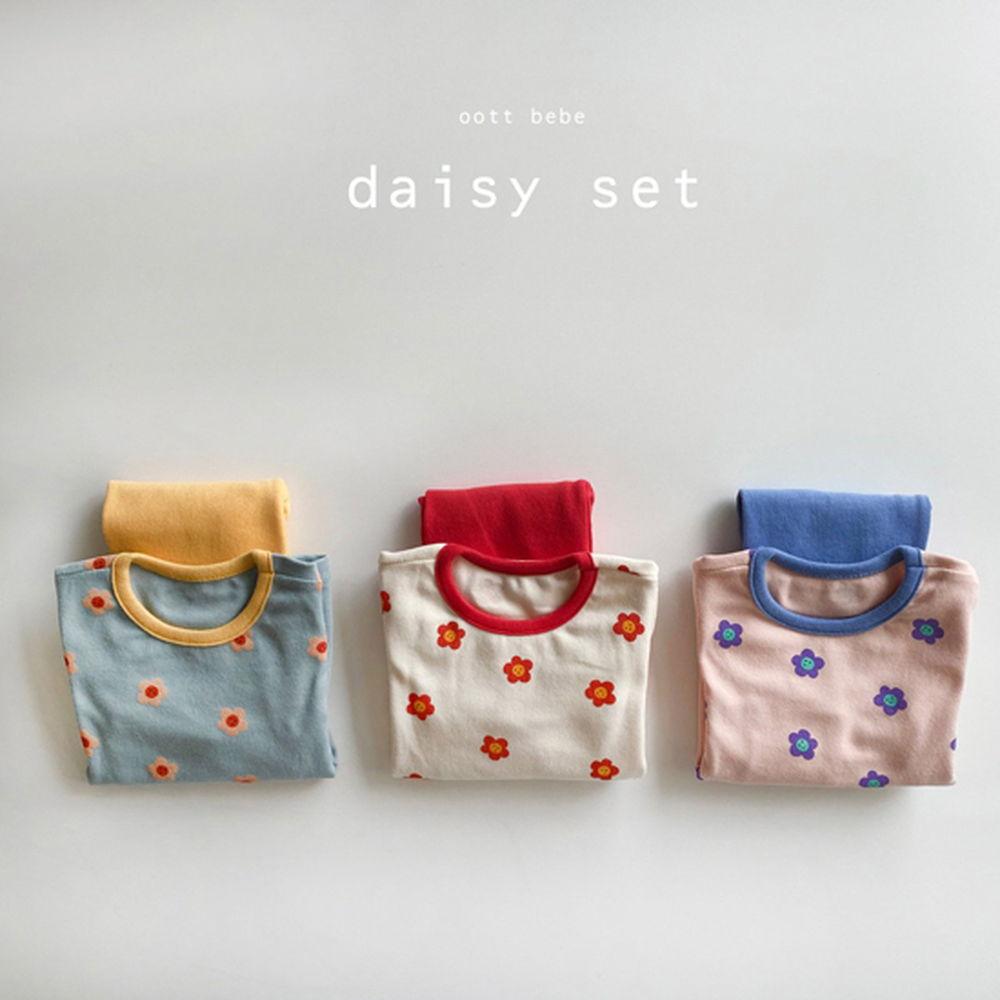 OOTT BEBE - BRAND - Korean Children Fashion - #Kfashion4kids - Daisy Loungewear