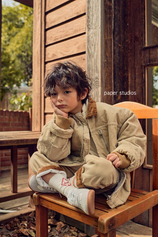 PAPER STUDIOS - Korean Children Fashion - #Kfashion4kids - Velvet Jumper - 2