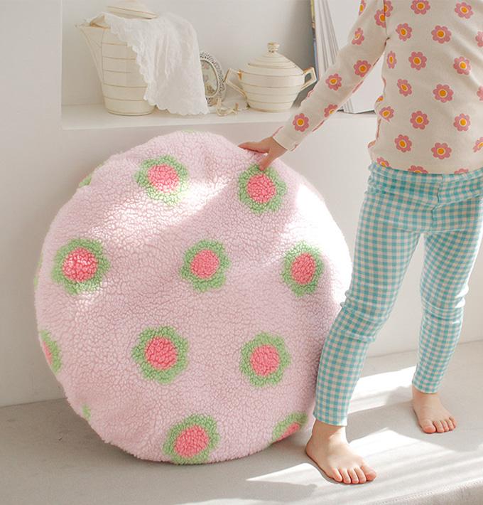 PINSON - BRAND - Korean Children Fashion - #Kfashion4kids - Flower Cushion