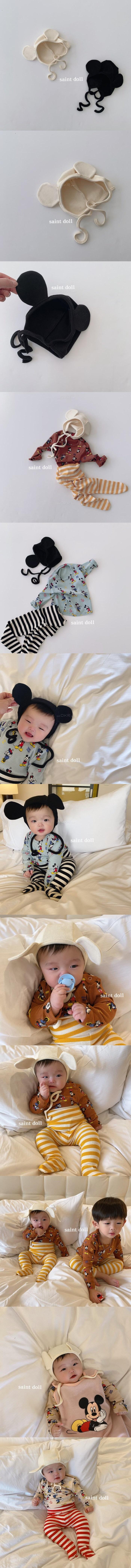 SAINT DOLL - Korean Children Fashion - #Kfashion4kids - Baby Mouse Hat