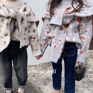 SAINT DOLL - BRAND - Korean Children Fashion - #Kfashion4kids - Leopard Muffler