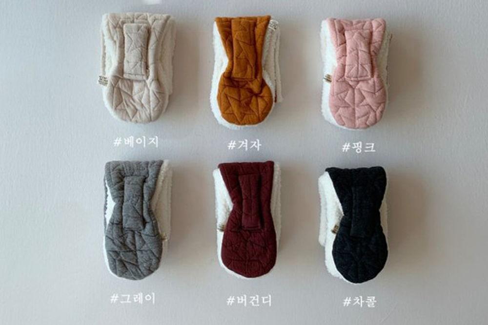 SHINSEAGE KIDS - BRAND - Korean Children Fashion - #Kfashion4kids - Star Quilting Neck Warmer