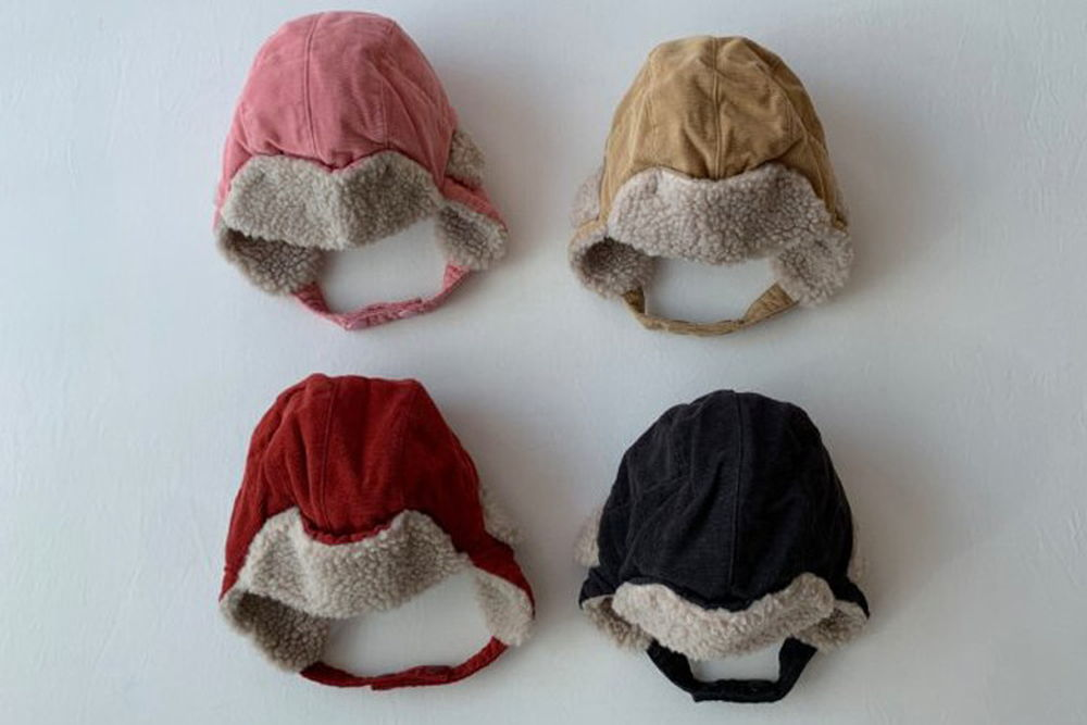 SHINSEAGE KIDS - BRAND - Korean Children Fashion - #Kfashion4kids - Corduroy Dumble Hat