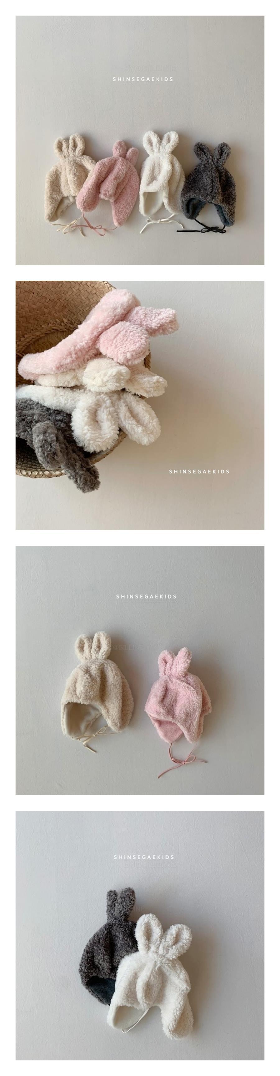 SHINSEAGE KIDS - Korean Children Fashion - #Kfashion4kids - Rabbit Dumble Hat