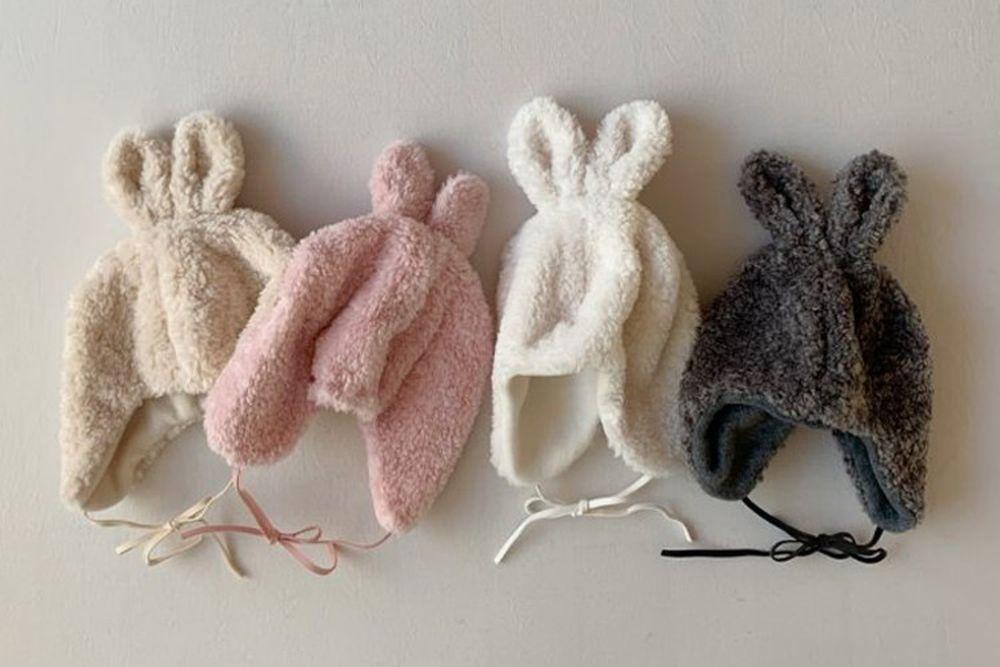 SHINSEAGE KIDS - BRAND - Korean Children Fashion - #Kfashion4kids - Rabbit Dumble Hat