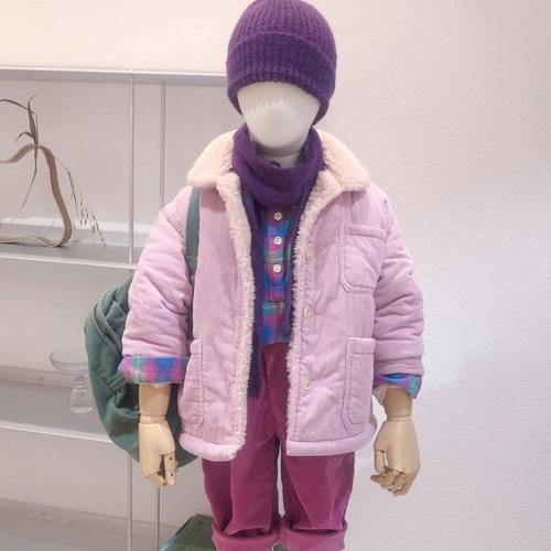 STUDIO M - BRAND - Korean Children Fashion - #Kfashion4kids - Sky Cude Dumble Jacket