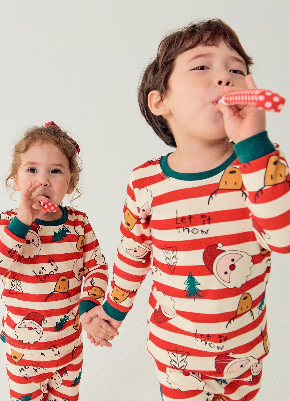TTASOM - Korean Children Fashion - #Kfashion4kids - Let It Snow Loungewear - 3