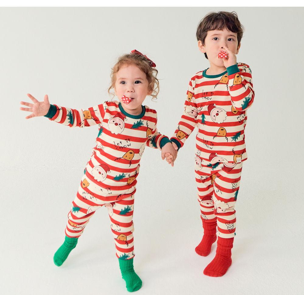 TTASOM - Korean Children Fashion - #Kfashion4kids - Let It Snow Loungewear - 4