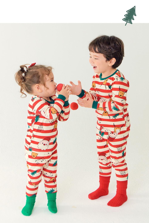 TTASOM - Korean Children Fashion - #Kfashion4kids - Let It Snow Loungewear - 5