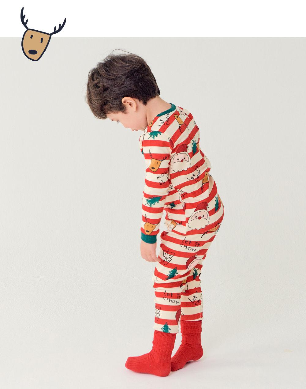 TTASOM - Korean Children Fashion - #Kfashion4kids - Let It Snow Loungewear - 6