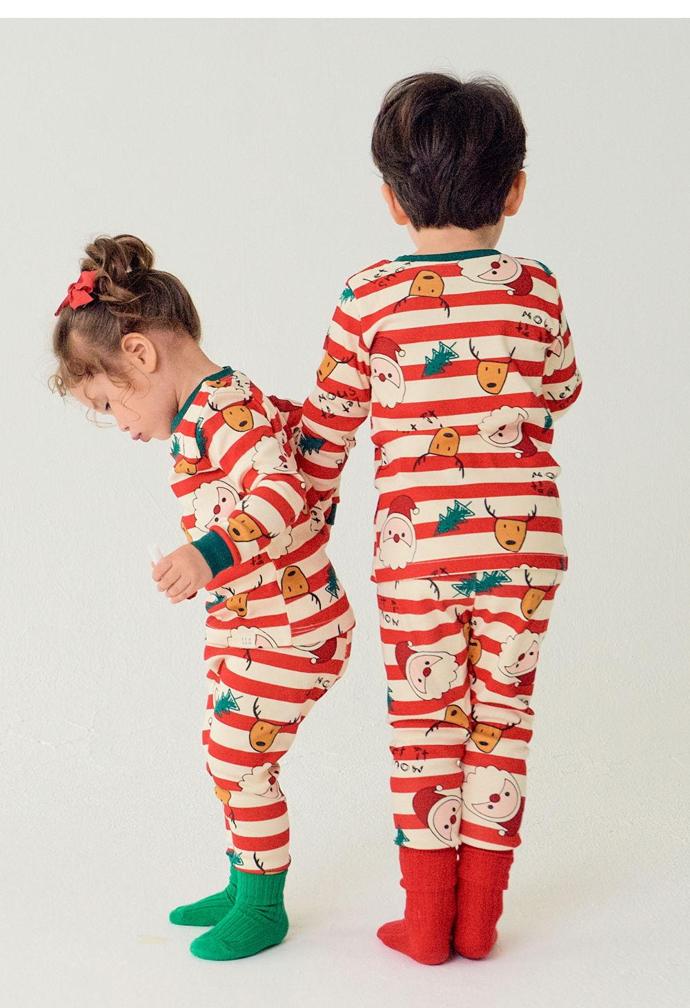 TTASOM - Korean Children Fashion - #Kfashion4kids - Let It Snow Loungewear - 7