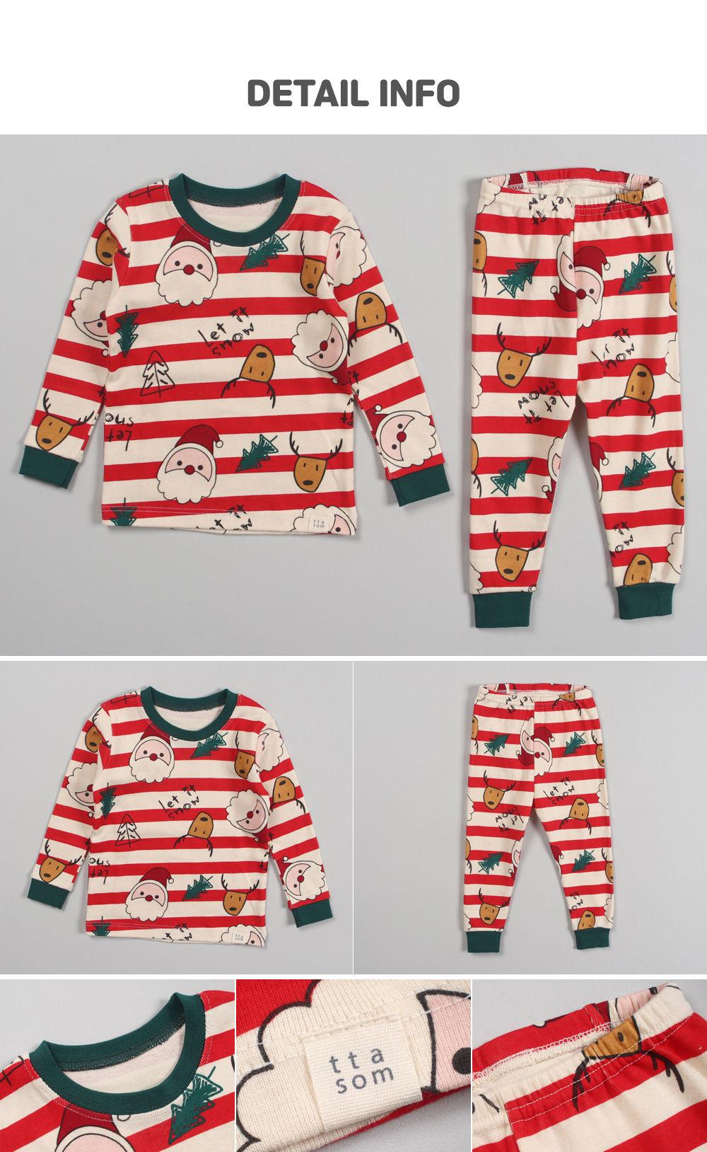 TTASOM - Korean Children Fashion - #Kfashion4kids - Let It Snow Loungewear - 8