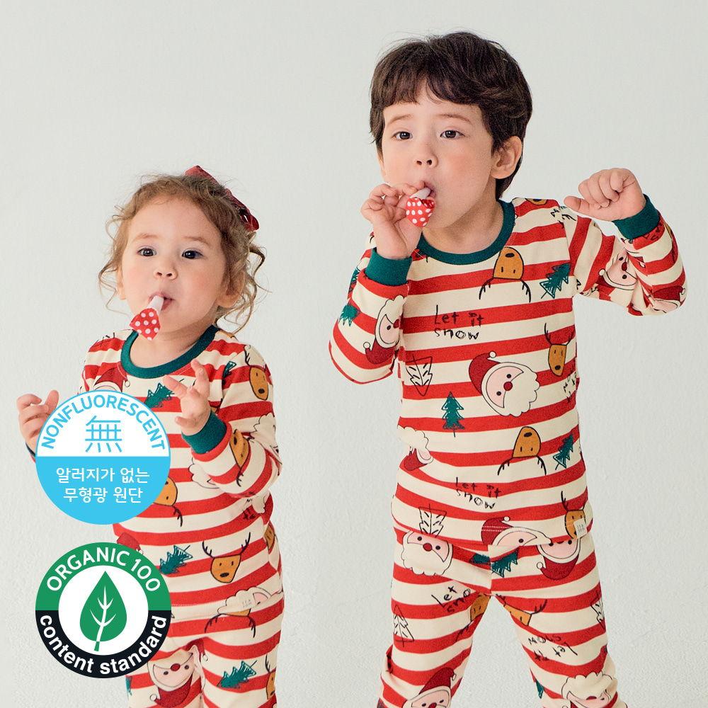 TTASOM - BRAND - Korean Children Fashion - #Kfashion4kids - Let It Snow Loungewear