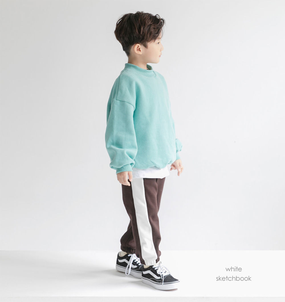 WHITESKETCHBOOK - BRAND - Korean Children Fashion - #Kfashion4kids - Mink Colored Pants