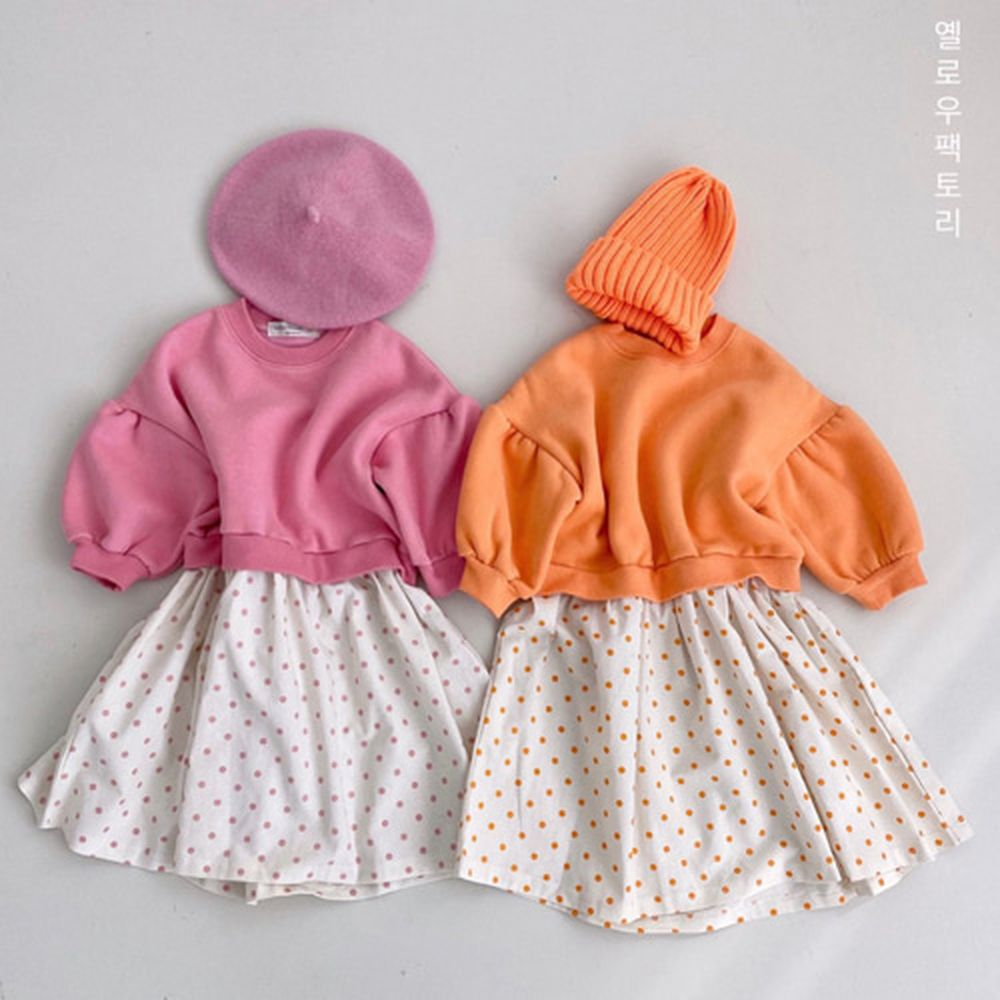 YELLOW FACTORY - BRAND - Korean Children Fashion - #Kfashion4kids - Marble One-piece