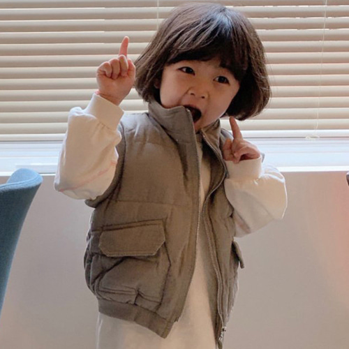 YELLOW FACTORY - BRAND - Korean Children Fashion - #Kfashion4kids - Legend Padding Vest