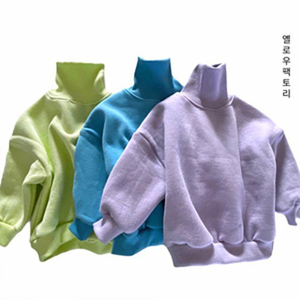 YELLOW FACTORY - BRAND - Korean Children Fashion - #Kfashion4kids - Adore Turtleneck Sweat Shirt