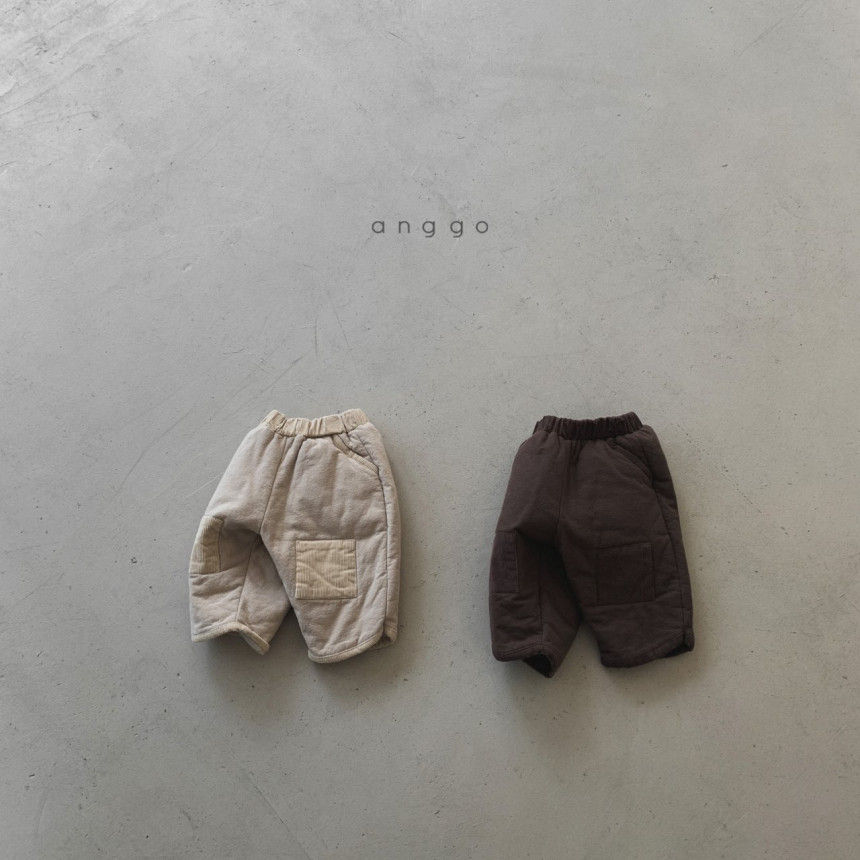 ANGGO - Korean Children Fashion - #Kfashion4kids - Brownie Pants - 10
